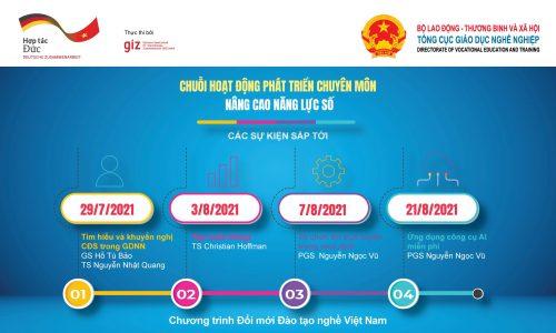 Nâng cao năng lực số của các cán bộ và giảng viên giáo dục nghề tại Việt Nam