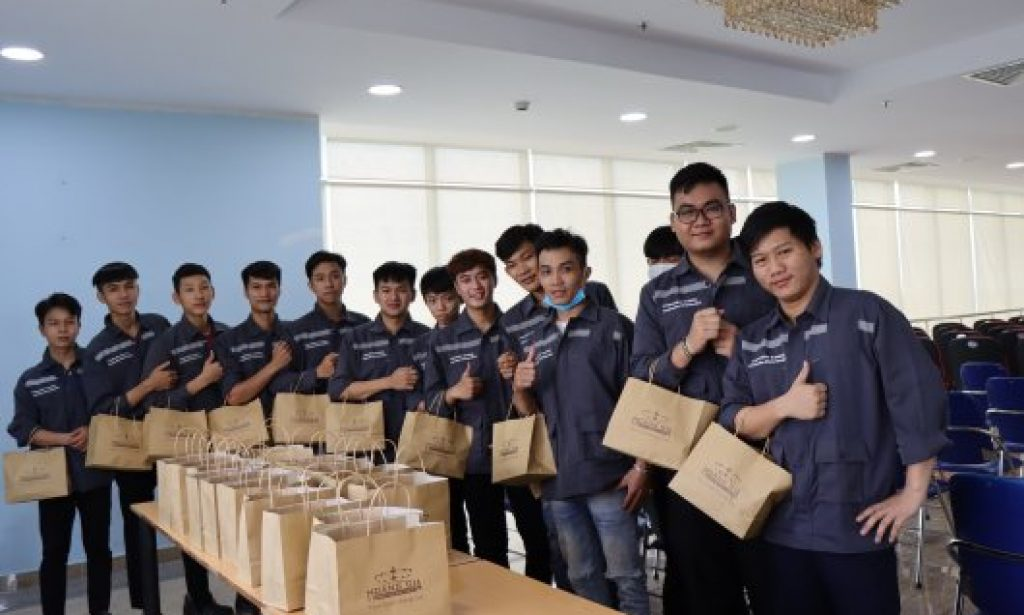 """The students were delighted to take part in """"Brown Bag Lunch"""""""