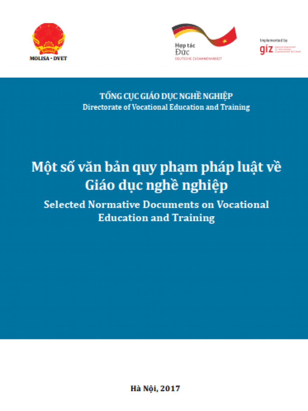 Selected Normative Documents on Vocational Education and Training